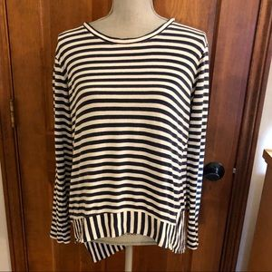 CAbi Bengal Striped Tee (M)